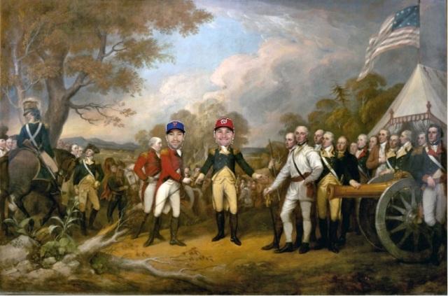 british surrender
